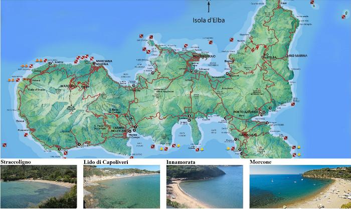 Insel Elba Karte.Insel Elba Ferienwohnung Startseite